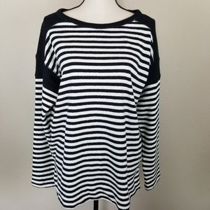 Chaps Terry Striped Tunic